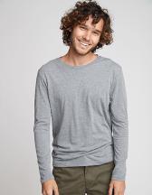 Men`s Long Sleeve Tri-Blend T-Shirt