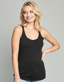 Ladies` Tri-blend Racerback Tank-Top